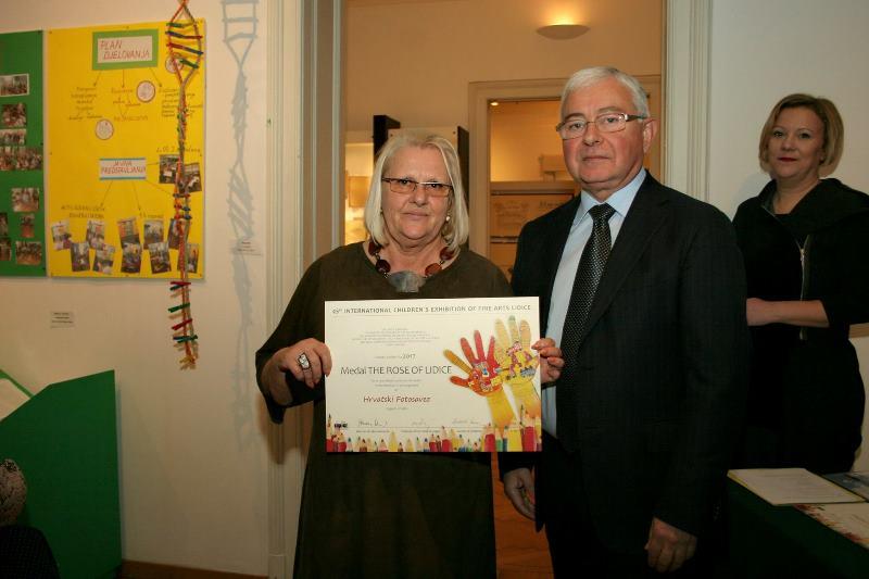 2017. Dodjela priznanja za međunarodnu izložbu Lidice